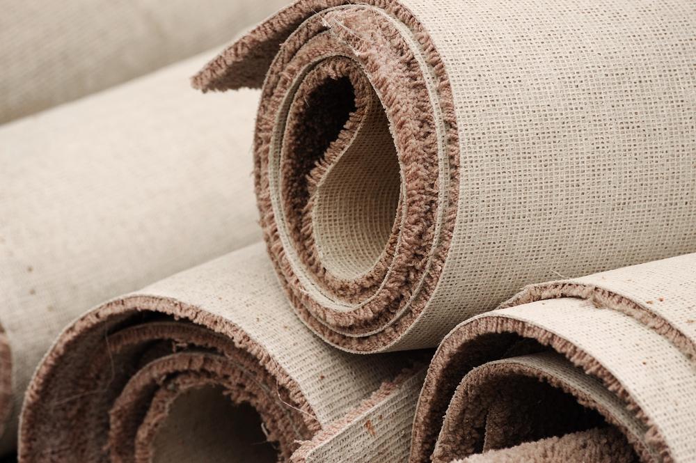 quitar una alfombra