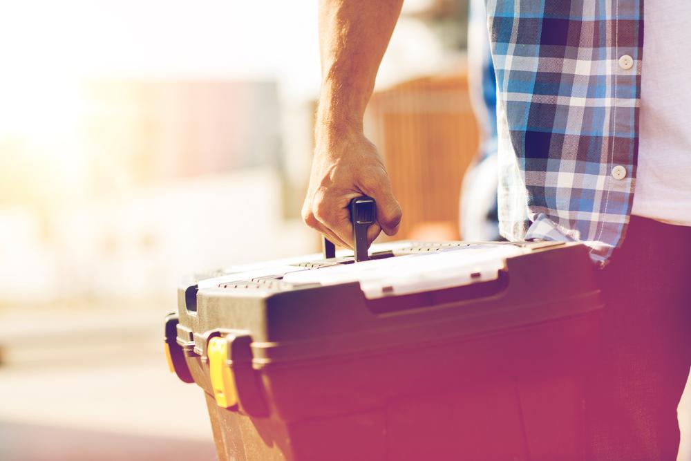 caja de herramientas ferretera ermita