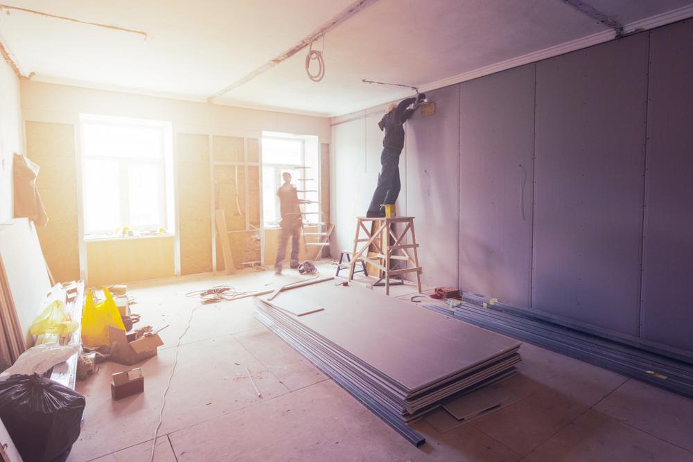 Tienda, instalación, renovación